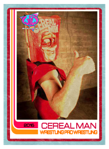 CEREAL MAN FRONT